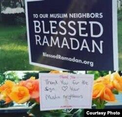 Lebih dari 2.500 poster Ramadan didistribusikan di berbagai negara bagian di Amerika.