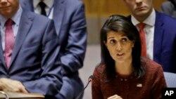美國駐聯合國大使黑利