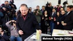 Cumhur İttifakı Ankara Büyükşehir Belediye Başkan Adayı Mehmet Özhaseki
