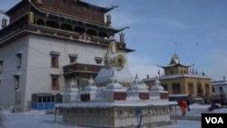 蒙古乌兰巴托甘丹寺