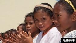 Malagasy girls.