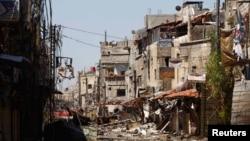 La dévastation en Syrie