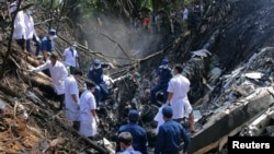 Plane Crash in Laos