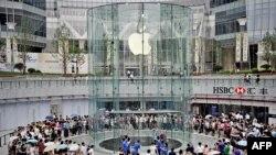 Một cửa hàng của Apple ở Thương Hải