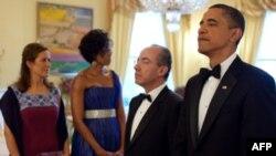 Obama dhe Kalderon bisedime mbi përpjekjet e luftës kundër drogës