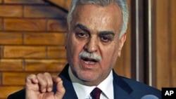 Phó Tổng thống Tariq al-Hashemi