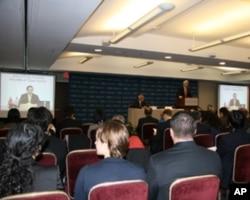 战略与国际研究中心马英九视频会议现场