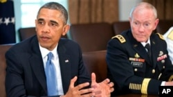 Барак Обама и Мартин Демпси