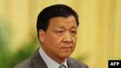 FILE - China's propaganda chief Liu Yunshan.