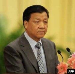 主管宣传的中共政治局常委刘云山