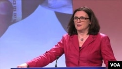 AB Komisyonu'nun yolsuzlukla mücadele konusunda yayımladığı ilk raporu İçişlerinden Sorumlu Üye Cecilia Malmström açıkladı.