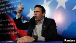 Opozicioni predsednički kandidat na izborima u Venecueli, Enrike Kapriles