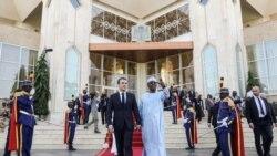 Fin de visite officielle au Tchad pour le président Macron