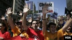 La oposición fue autorizada a realizar una concentración pero no a marchar, sólo el oficialismo podrá realizar marchas hasta la Asamblea Nacional.