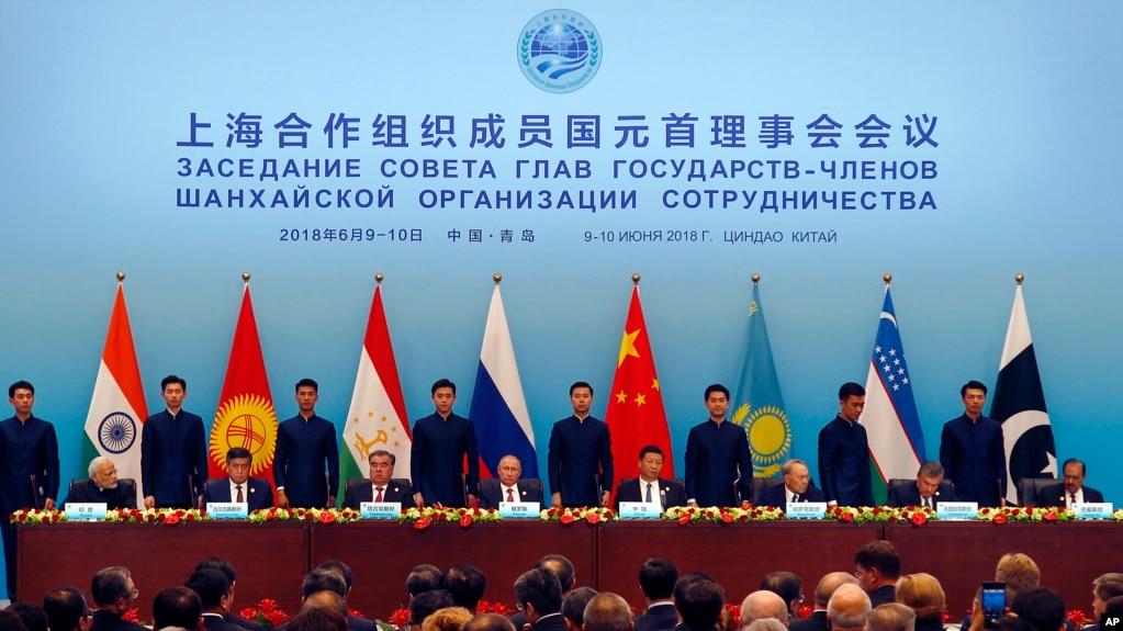上合組織成員國領導人