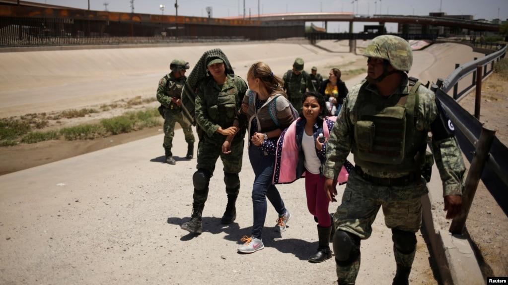 Resultado de imagen para migrantes mexico guardia nacional