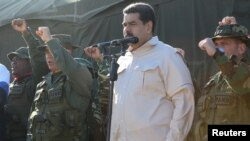 Президент Венесуэлы Николас Мадуро (архивное фото)