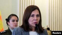 La canciller boliviana, Karen Longaric, reveló que podría haber una reunión de cancilleres con México.