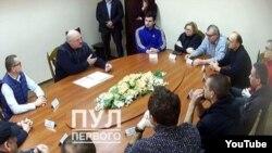 Встреча Лукашенко с политзаключенными Беларуси