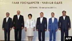 Главы государств-членов ОДКБ