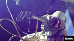 Ed White became the first American to perform a spacewalk on June 3rd 1965.