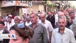 Gelê Efrînê Êrîşên Tirkîyê Şermezar Dike
