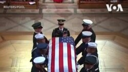 ԱՌԱՆՑ ՄԵԿՆԱԲԱՆՈՒԹՅԱՆ. ԱՄՆ-ի 41-րդ նախագահ Ջորջ Բուշ ավագի վերջին հրաժեշտի արարողությունը
