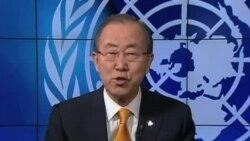聯合國秘書長呼籲中非共和國和平