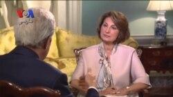 مصاحبه اختصاصی وزیر خارجه ایالات متحده با بخش فارسی صدای آمریکا