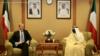 برایان هوک در کویت با وزیر خارجه آن کشور دیدار کرد
