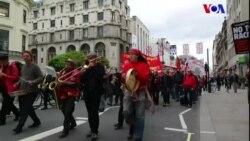 Londra'da 1 Mayıs Sakin Geçti