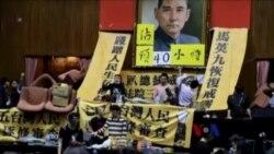 """纽约异议人士:""""服贸""""的实质是统合台湾"""