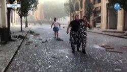 Beyrut Şiddetli Patlamayla Sarsıldı