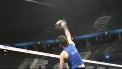 Волейбол швидко набуває популярності. Відео