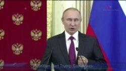 Putin'den Sert Trump Savunması