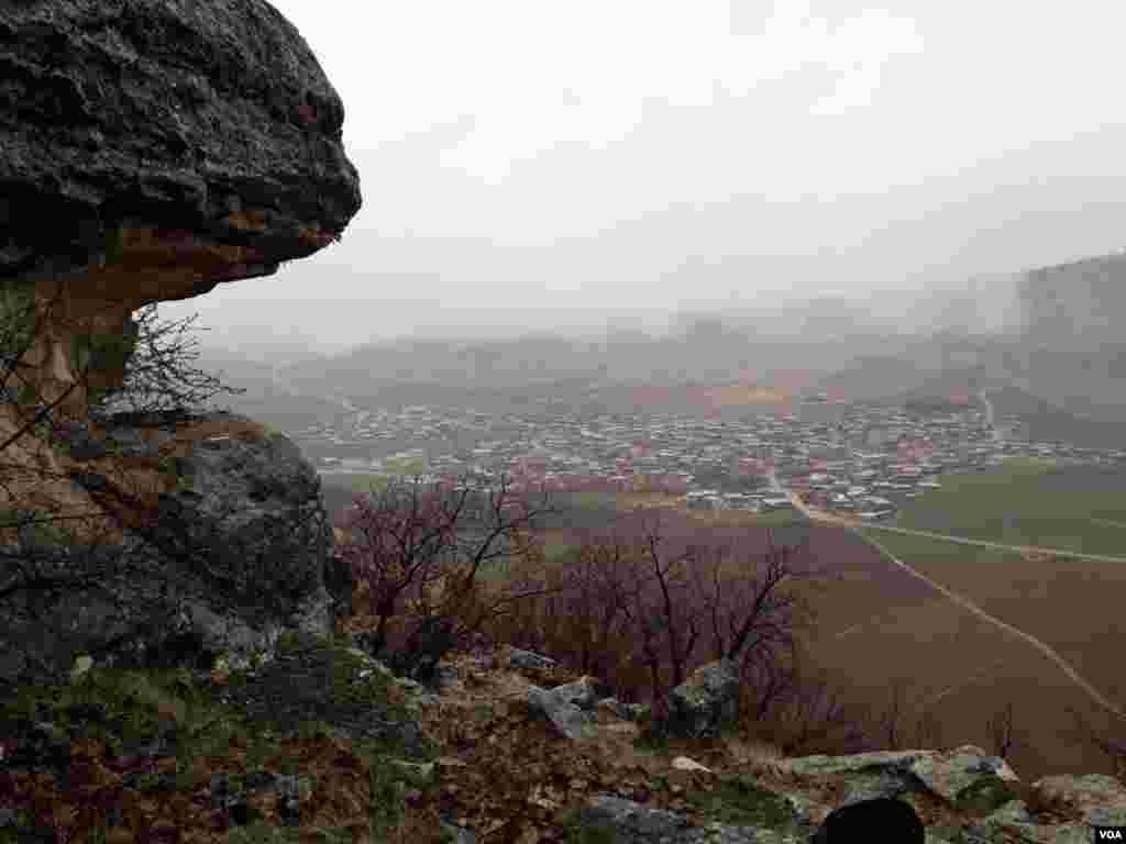 کرمانشاه- ارتفاعات روستای چنگر عکس: پیمان سلیمی (ارسالی شما)