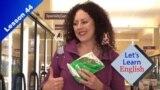 [VOA 기초영어] 건강식품 vs 정크푸드? 마트에서 쓰는 영어 표현!