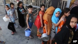 U.S. Sends Aid to Iraq But More Needed