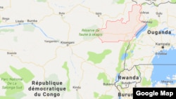 La région de Ituri, en République démocratique du Congo en zone rouge, le 1er mai 2017.