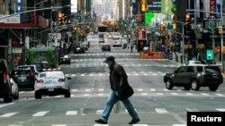 美國紐約市疫情嚴重
