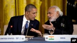 نریندرا مودی برای هفتمین بار با رئیس جمهور اوباما دیدار خواهد کرد