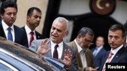 터키로 망명한 이라크 부통령 타리크 알-하세미.