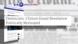 Manchetes Americanas 31 Outubro: Clinton e Trump com corrida mais renhida