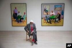 نمایشگاه آثار دیوید هاکنی در لندن