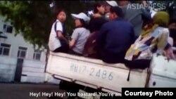 일본의 북한전문 매체 '아시아 프레스'가 북한 내부 기자들이 비밀 촬영한 영상으로 만든 다큐멘터리 '비밀의 국가 북한' 중 한 장면.
