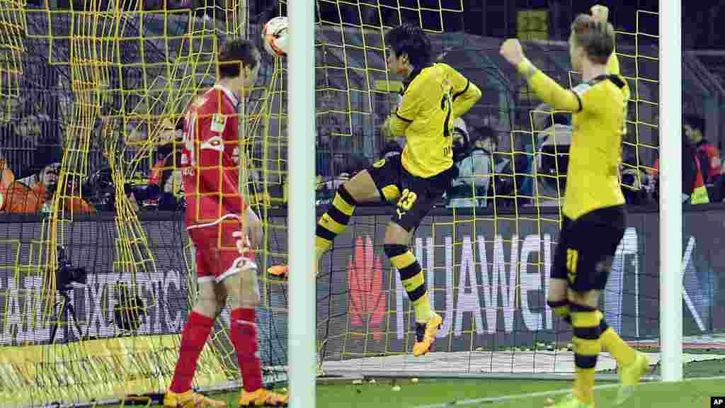 Dortmund a remporté une victoire face à Mayence 2 buts à 0.
