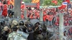 ارتش تایلند علیه معترضین وارد عمل می شود