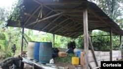 En lo que va del año 2013, unas 53 toneladas de drogas se han decomisado en Ecuador.