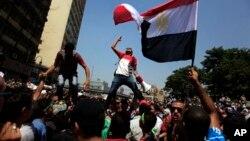 Protest pristalica svrgnutog egipatskog predsednika Mohameda Morsija u Egiptu