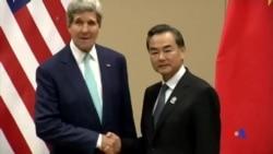 2014-08-10 美國之音視頻新聞: 克里敦促東盟國家在領土爭端中避免複雜化